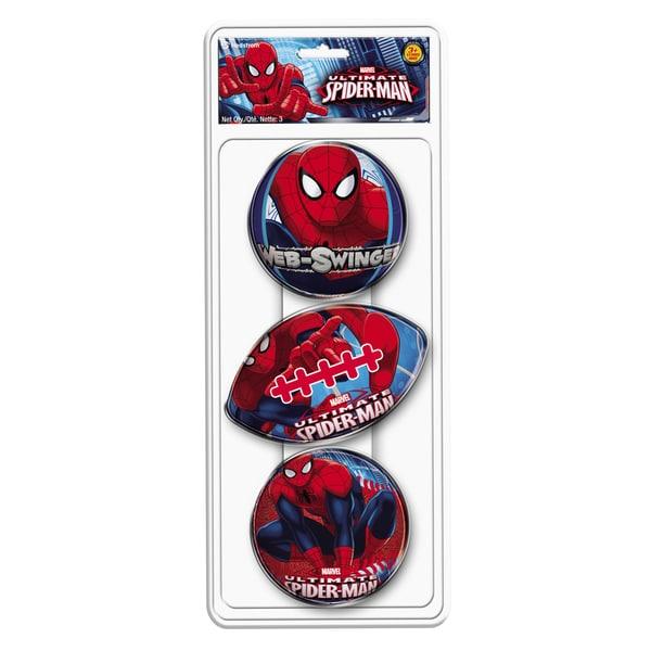 Hedstrom Spiderman 3 Pack Foam Ball Set