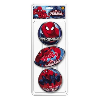 Hedstrom Spiderman 3 Pack Foam Ball Set