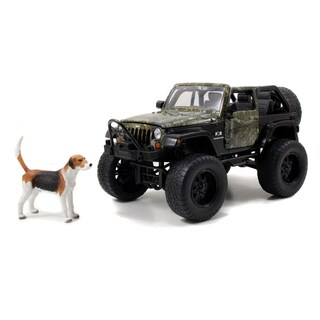 Jada Toys Realtree 1/24 Die cast Jeep Wrangler