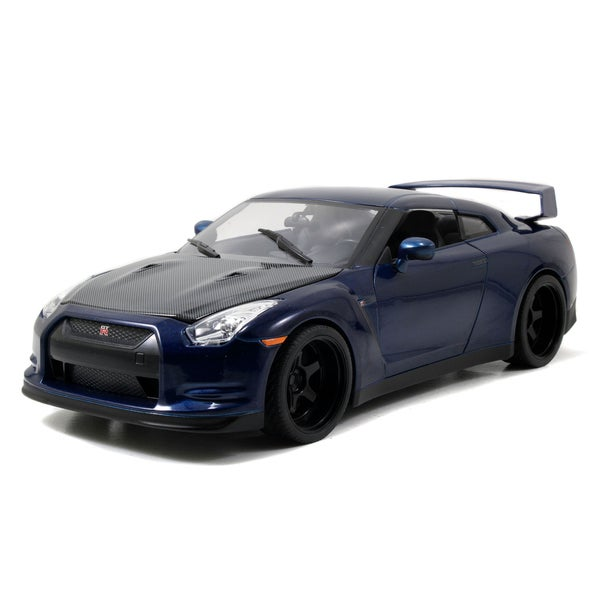 Fast and Furious 1/18 Scale Die cast Nissan GT-R