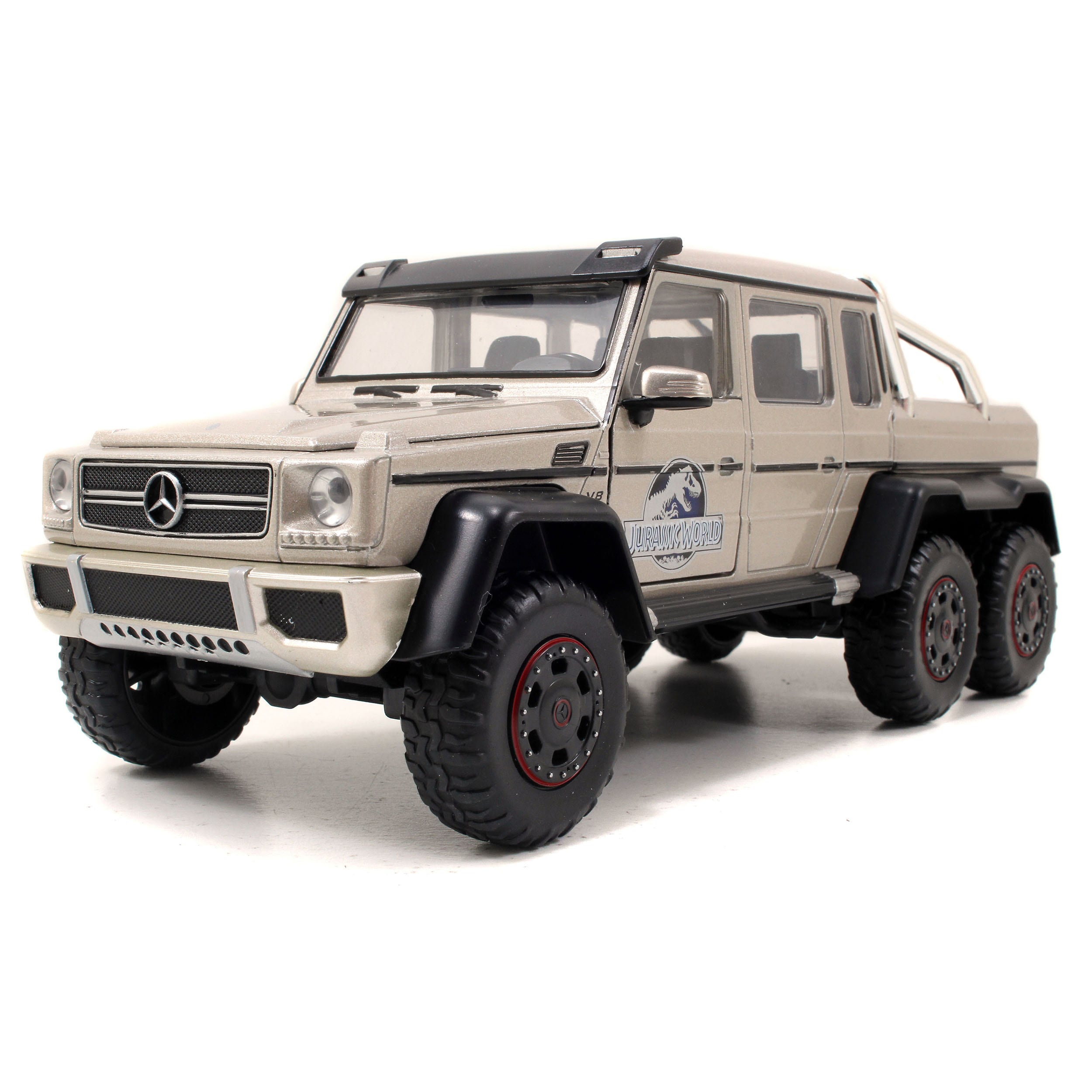 Jada Toys Jurassic World Die cast Mercedes G-Wagon 6x6 AM...