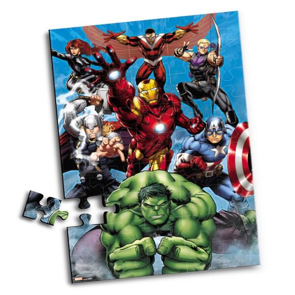 JAM'N Products Avengers 45-Piece Floor Puzzle