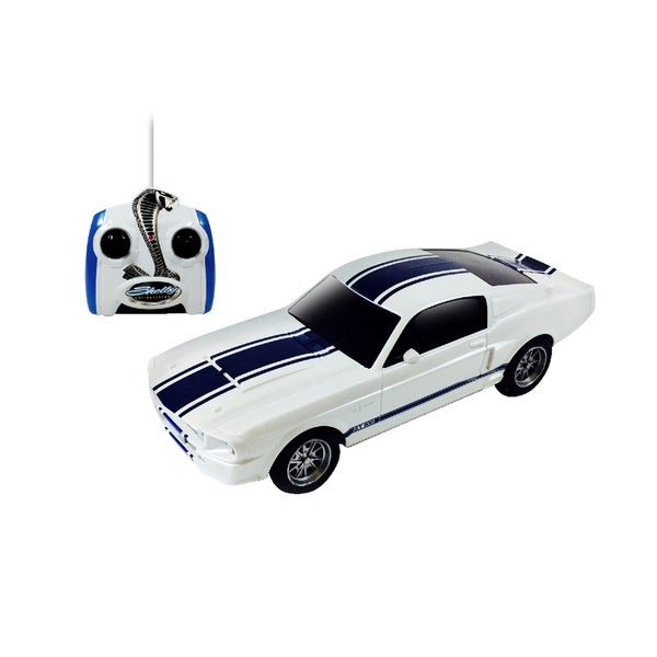Mustang Shelby GT500 White Remote Control Vehicle