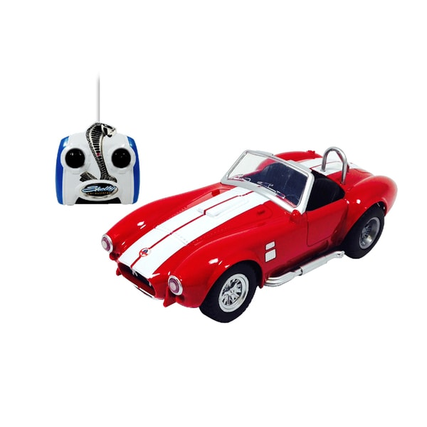 Shelby Cobra Red Remote Control Vehicle