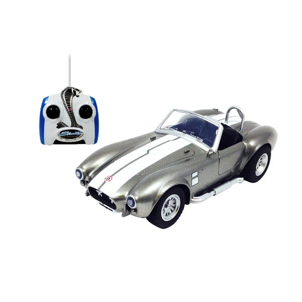 Shelby Cobra Silver Remote Control Vehicle