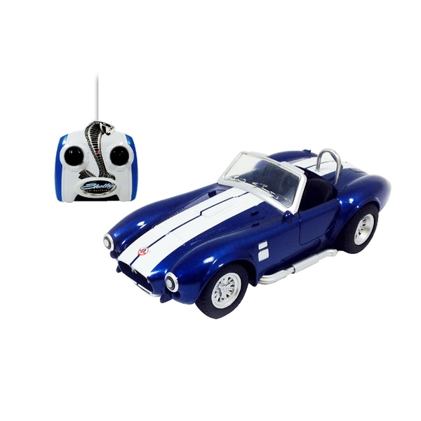 Shelby Cobra Blue Remote Control Vehicle