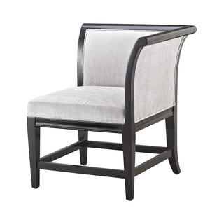 Dimond Home Ostrava Chair In Black And Silver