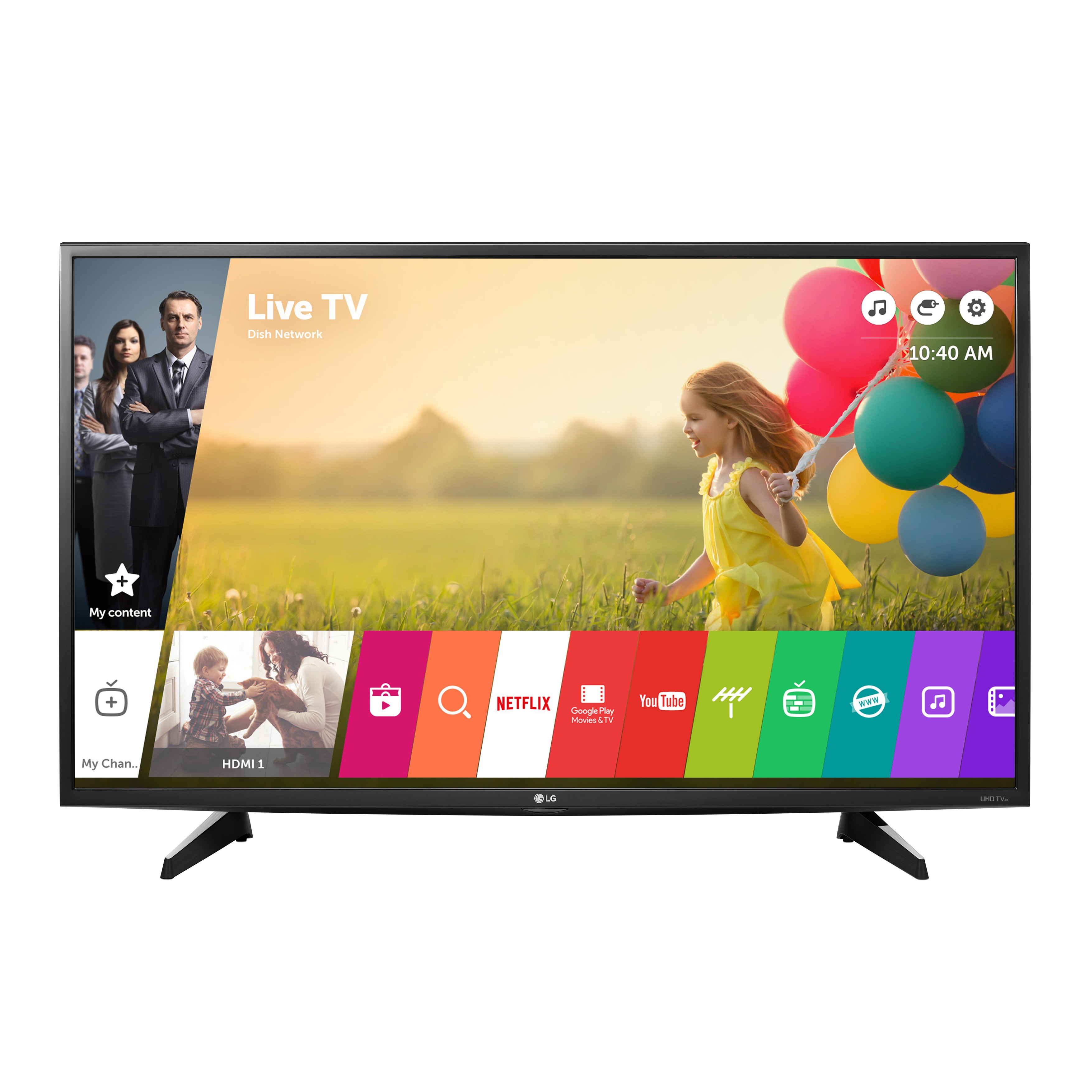 LG 43UH6100 43-inch class 4K UHD Television with Smart tv...