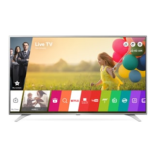 LG 49UH6500 49-inch Class 4K UHD LED television with Smart Tv 120HZ and WebOs