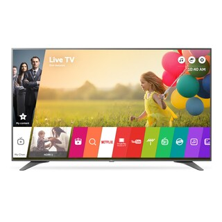 LG 75UH6550 75-inch Class 4K UHD LED Television with Smart Tv 240HZ and WebOs - WITH FREE ANRM650 REMOTE