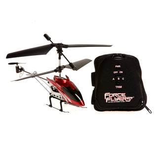 Falcon 3-Channel Red Motion Control Helicopter