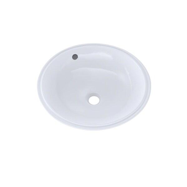 Toto Round Undermount Bathroom Sink with CeFiONtect LT193G01 Cotton