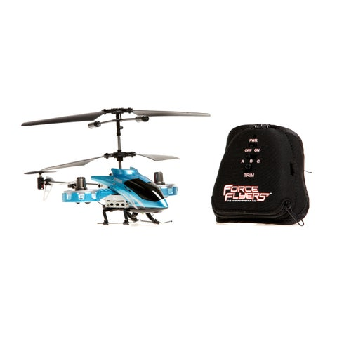 Raptor 4-Channel Blue Motion Control Helicopter