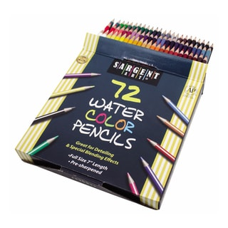 Sargent Art 72 Count Watercolor Number 7 Pencils