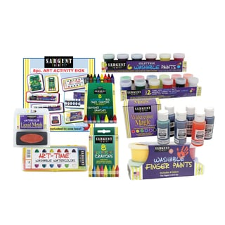 Sargent Art 8 Piece Art Activity Set
