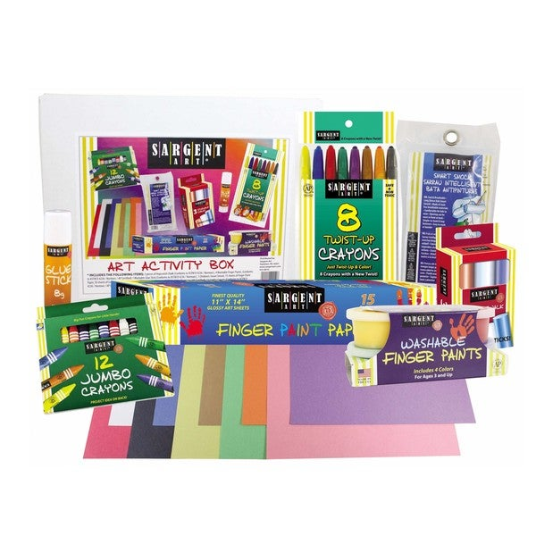 Children's Art and Activity Kit for the Beginner Artist