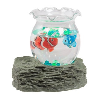 Warm Fuzzy Toys Tropical Fish Bowl