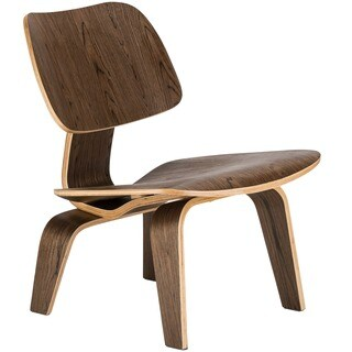 Poly and Bark Isabella Plywood Lounge Chair