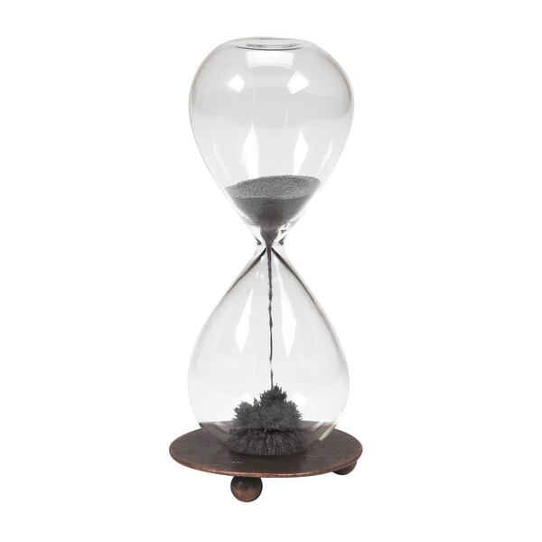 Warm Fuzzy Toys Magnetic Sand Hourglass