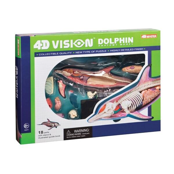 Warm Fuzzy Toys Dolphin Anatomy Model