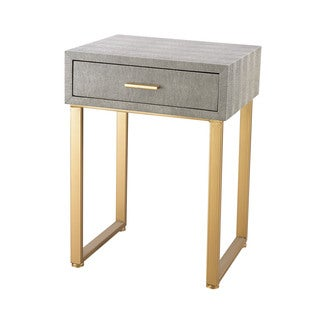 Dimond Home Beaufort Point Accent Side Table With Drawer
