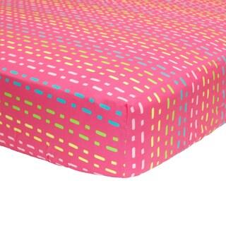 Belle Tutti Frutti Fitted Crib Sheet