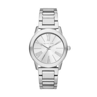 Michael Kors Women's MK3489 Hartman Silver Dial Stainless Steel Bracelet Watch