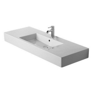 Duravit Vero Vessel Porcelain Bathroom Sink 03291200601 White Alpin