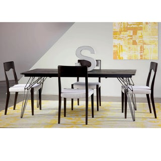 Saloom LEM 36 x 60 Rectangular Maple Smooth Top Dining Table in Rockport Finish