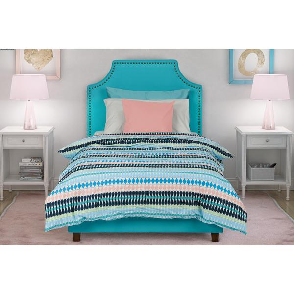 DHP Melita Teal Linen Upholstered Twin Bed   Free Shipping Today    Overstock com   18469485. DHP Melita Teal Linen Upholstered Twin Bed   Free Shipping Today