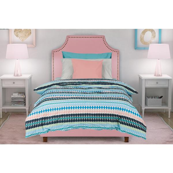 DHP Melita Pink Linen Upholstered Twin Bed. DHP Melita Pink Linen Upholstered Twin Bed   Free Shipping Today