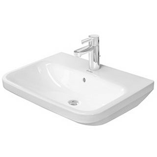 Duravit DuraStyle Wall-Mount Porcelain Bathroom Sink 2319650000 White Alpin