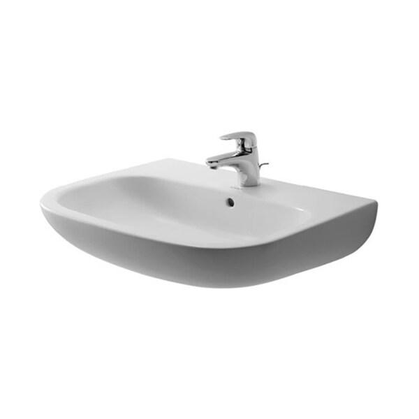 Duravit D-Code Washbasin, White (23106500002)