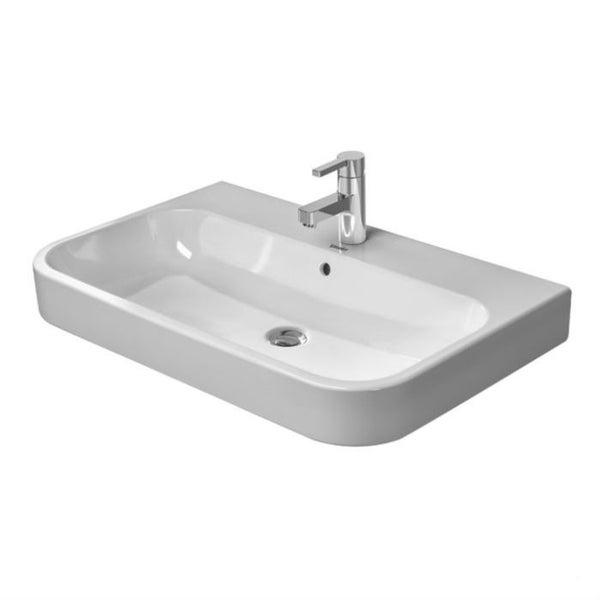 Duravit Happy D Console White Alpin Porcelain Bathroom Sink