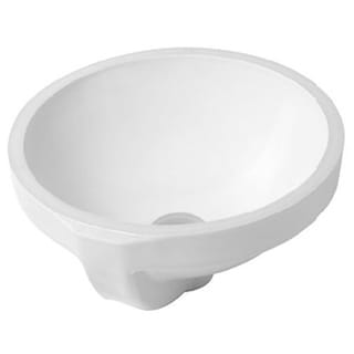 Duravit Architec Undermount Porcelain Bathroom Sink 0319320000 White Alpin