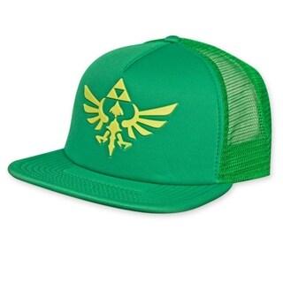 Zelda Logo Green Trucker Hat