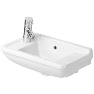 Duravit Starck Wall-Mount Porcelain Bathroom Sink 0751500009 White Alpin