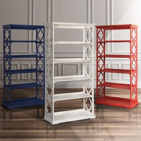 Furniture of America Mina Contemporary Open 5-tier Display Shelf