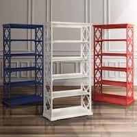 The Gray Barn Pitchfork Open 5-tier Display Shelf