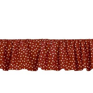 Houndstooth Bed Skirt