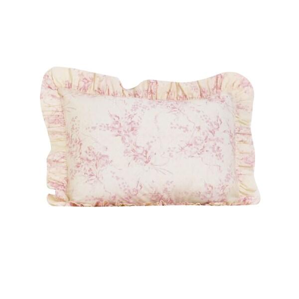 Heaven Sent Girl Ruffled Pillow Sham