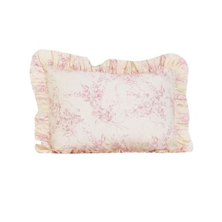 Heaven Sent Girl Ruffled Pillow Sham