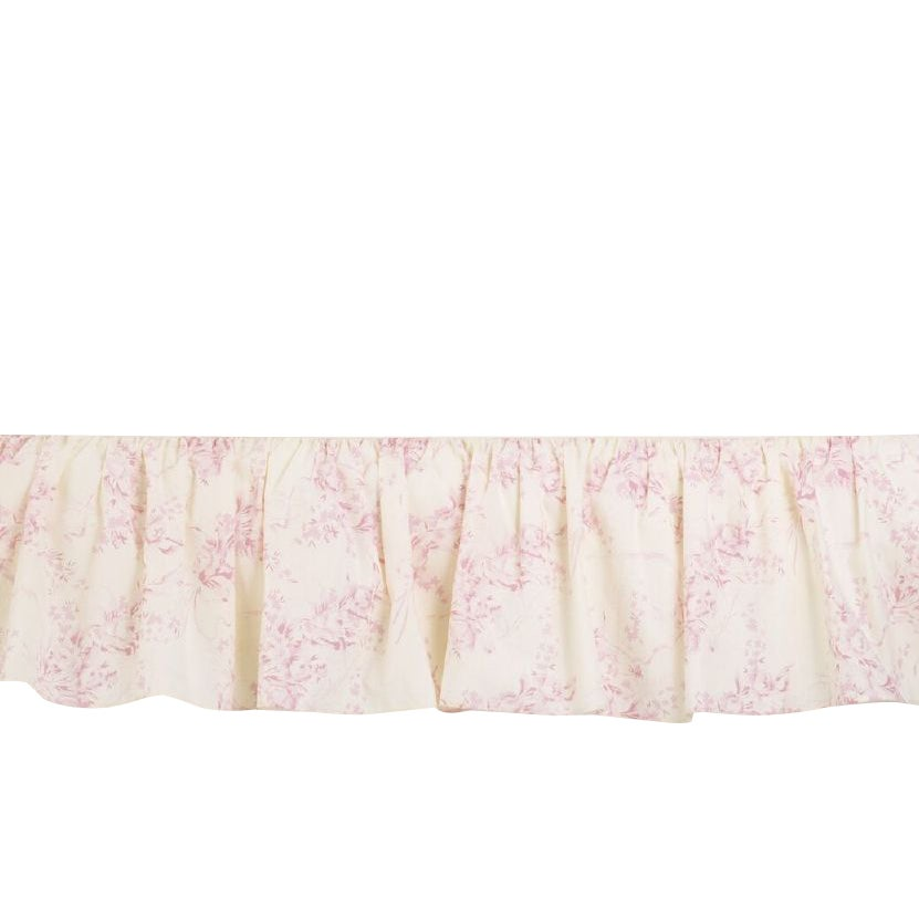 Cotton Tale Heaven Sent Girl Twin Bed Skirt (As Is Item) ...