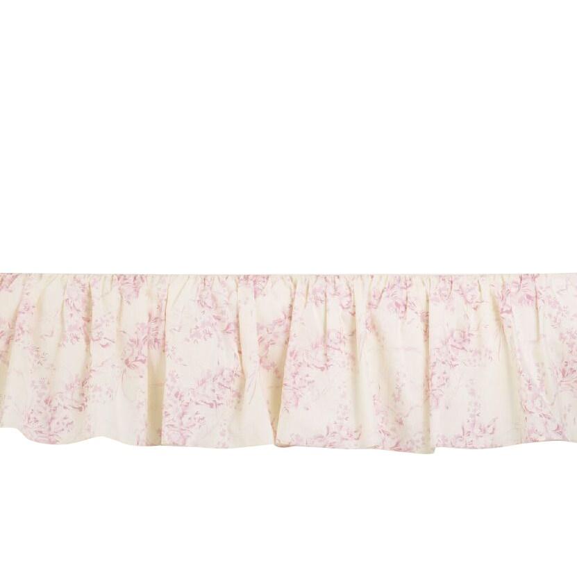 Cotton Tale Heaven Sent Girl Full Bed Skirt (Full), Multi