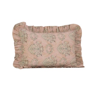 Nightingale Ruffled Pillow Sham
