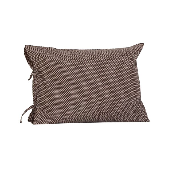 Nightingale Plain Pillow Case with Ties