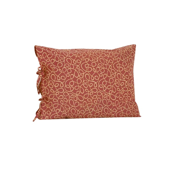 Peggy Sue Plain Pillow Case with Ties