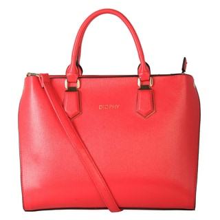 Diophy Faux Leather Business Fashion Tote