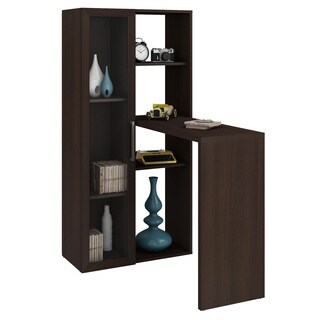 Accentuations by Manhattan Comfort Enchanthing Ast Smart Desk with 6-Shelves