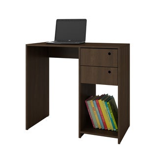 Accentuations by Manhattan Comfort Practical Pascara Work Desk with 2-Drawers and 1 Cubby